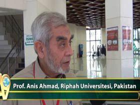Prof. Anis Ahmad, Riphah Universitesi, Pakistan Video