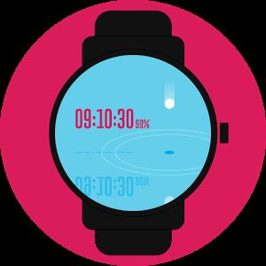 #drop #droplet #animation #digital #watchface #smartwatch #wearable #androidwear #lggwatchr #moto360 #design #apparel
