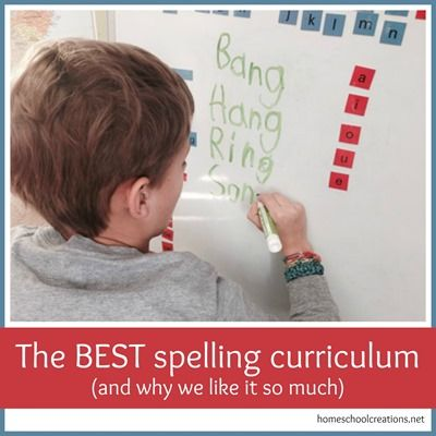 The BEST homeschool spelling curriculum - and why we love it so much. This homeschool spelling curriculum showed me that I COULD teach a subject with confidence - and effectively.