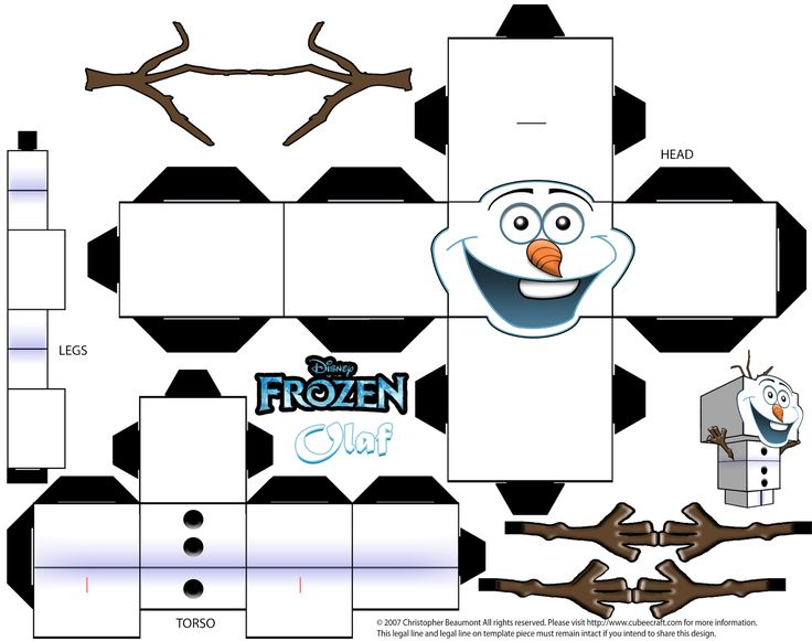cubeecraft_template_of_olaf_from_disney_s_frozen_by_skgaleana-d6taw88.png (1600×1264)