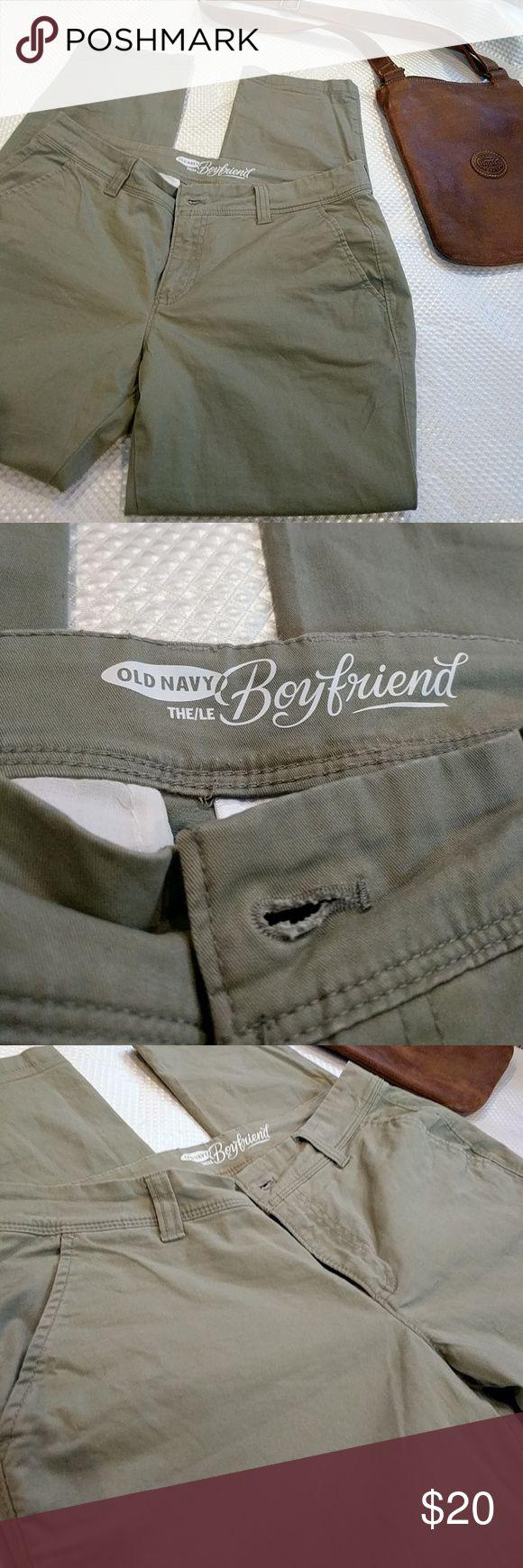 Old Navy Boyfriend Style Pants Old Navy Boyfriend Style Pants Khaki Green Old Navy Pants