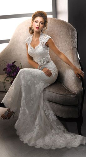 lace wedding dress with sleeves love this dress