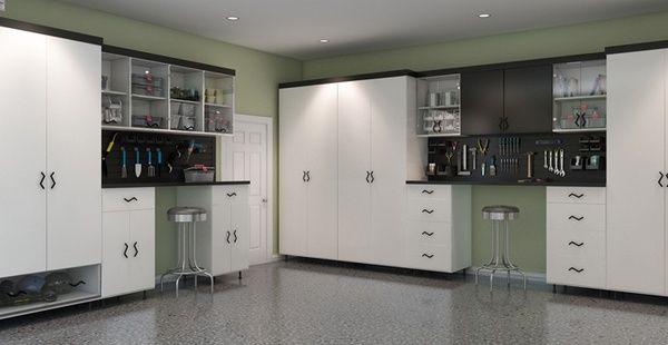 Garage Cabinets   Garage Storage   Garage Organization. I need this!!