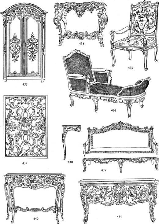 Французская мебель эпохи Регентства