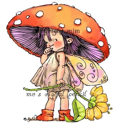 Mo's Digital Pencil - Amanita, $4.00 (http://www.mosdigitalpencil.com/amanita/)  Mo manning has amazing digi stamps :D