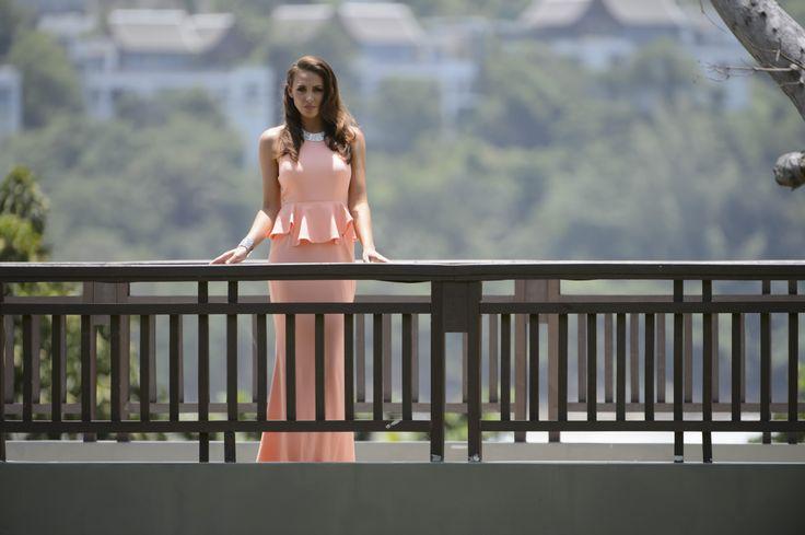 Rochelle  Dress by Sheike Shoes by Tony Bianco Necklace & cuff by Swarovski