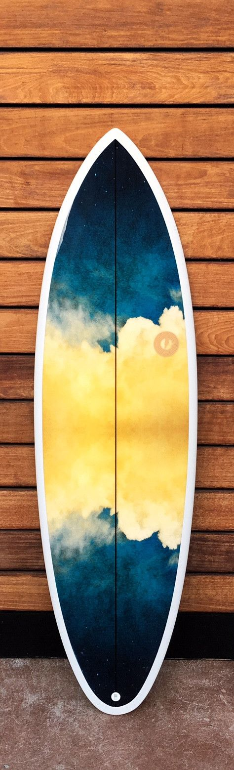 "5'9"" x 20"" x 2.38"" // 31 liters Ledge/Swing Mashup. Custom resin color & inlay artwork, Futures 5 fin, PU/PE, glassed 4+4/4oz, Combo gloss/matte combo finish Mashup of the Ledge & Swing. Slimmer Swing"