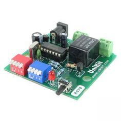 Cyclic PIC Digital Timer with Relay (1 sec to 15 Hour)