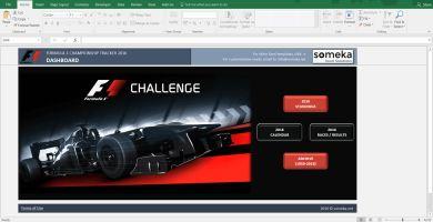 Formula 1 Championship Tracker 2016