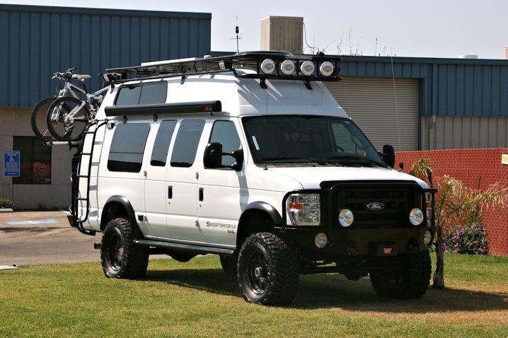 Ford Van Roof Rack Voyager Style Camping Van