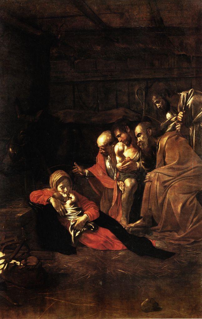 Caravaggio - Adorazione dei pastori - 1609