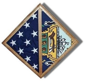 The 2 Flag Wall Mounted Case is the perfect case for hanging on the wall to display two flags. This wall-mounted case can be made to display flags of the following sizes: 3' x 5'and 5' x 8'; as well as  5' x 9.5' flags. The case is handcrafted, and is made with love by a veteran! Made in the U.S.A. Other names for this 2 Flag Wall Mounted Case include: flag case for memorial flags; flag and medal display case; a military flag case; a military flag box; a flag shadow box; a burial flag…