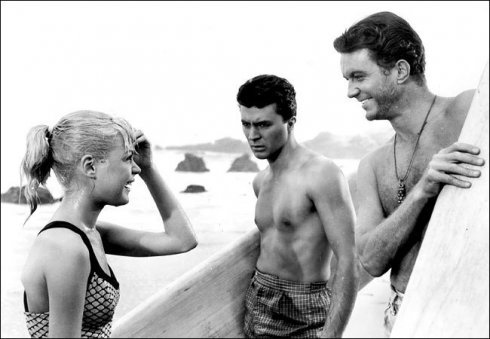 Gidget, Moondoggie, and Big Kahuna