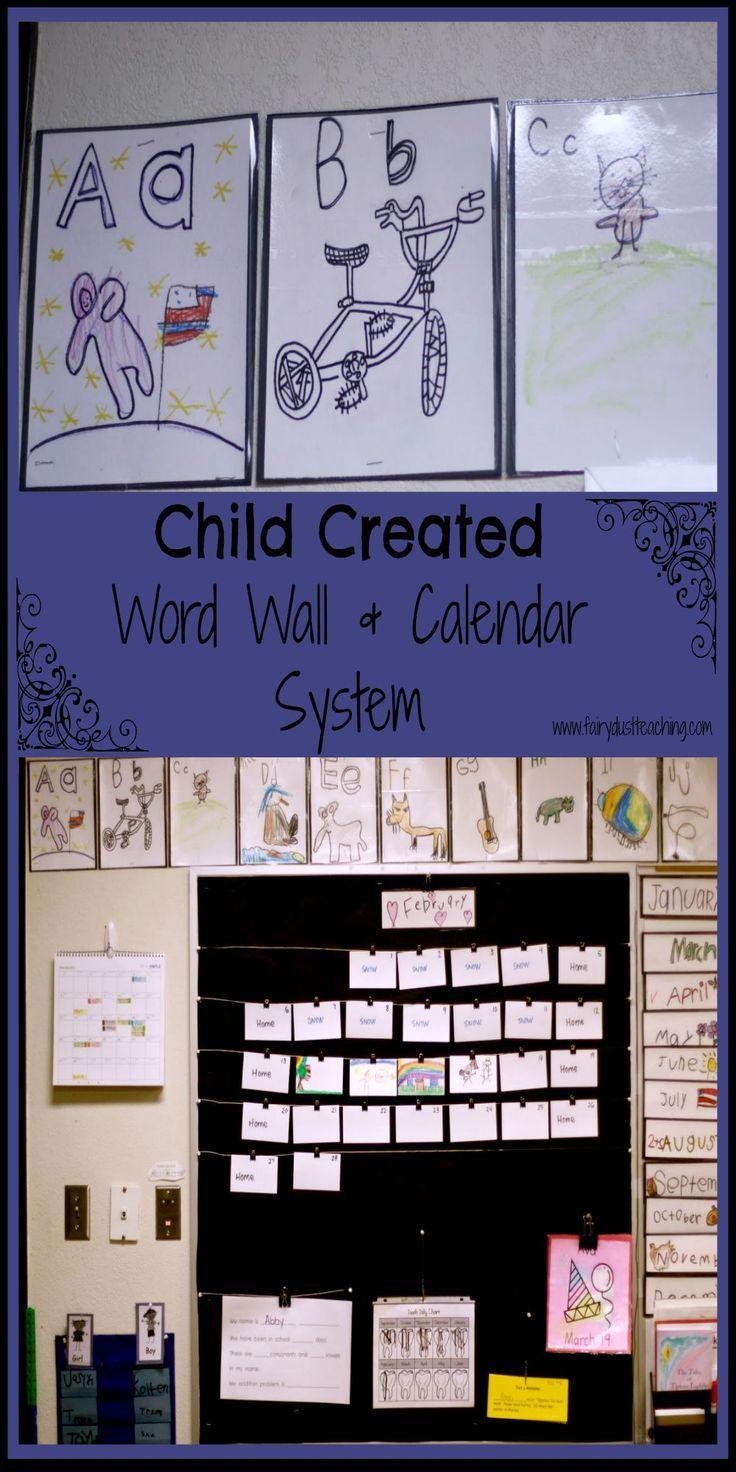 Calendar Design For Kindergarten : Best beginning of the year images on pinterest