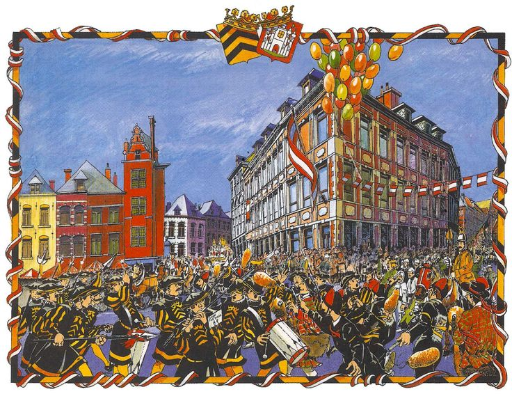 Mons calendrier 1998, Gérard Noirfalise