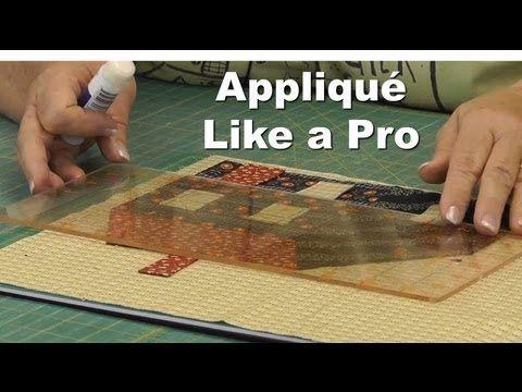 Appliqué Like a Pro!  Part 1/4 - Rectangles & Appliqué Basics - YouTube