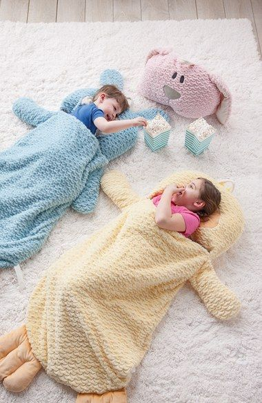 Nat & Jules Animal Sleeping Bag (Toddler) | Nordstrom