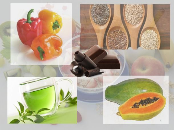 Foods for young and healthy