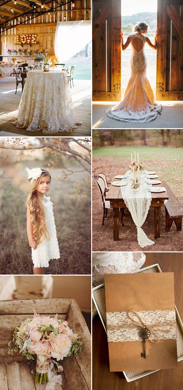 lace brown rustic rustic wedding ideas and lace brown wedding invitations
