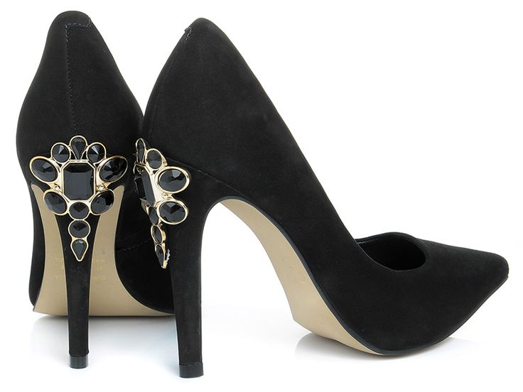 Stilettos with jewellry on the heel : IL PASSO FW14