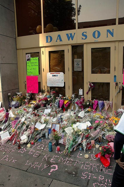 Memorial to the September 13 2006 Dawson College Shooting Rampage by caribb, via Flickr