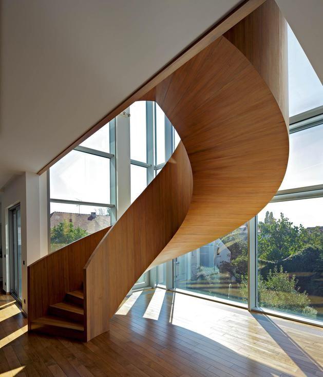 Stairs at Villa Gajdekova, Croatia by Studio BF Archi & Design and Internova Interior Design