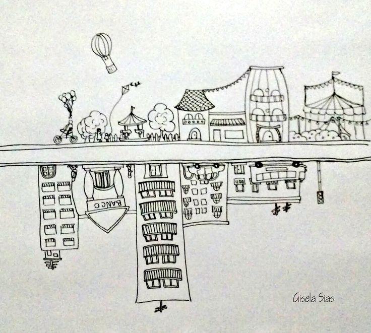 Mundos Paralelos #dibujo #draw #sketch #ilustración