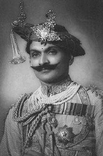 1937 - 1947 Major H.H. Kshatriya Kulavatana Sena Sapta Sahasri Senapati Pratinidhi, Maharaja Shrimant Sir Vikramsinhrao [Nana Sahib] Puar, Maharaja of Dewas ***