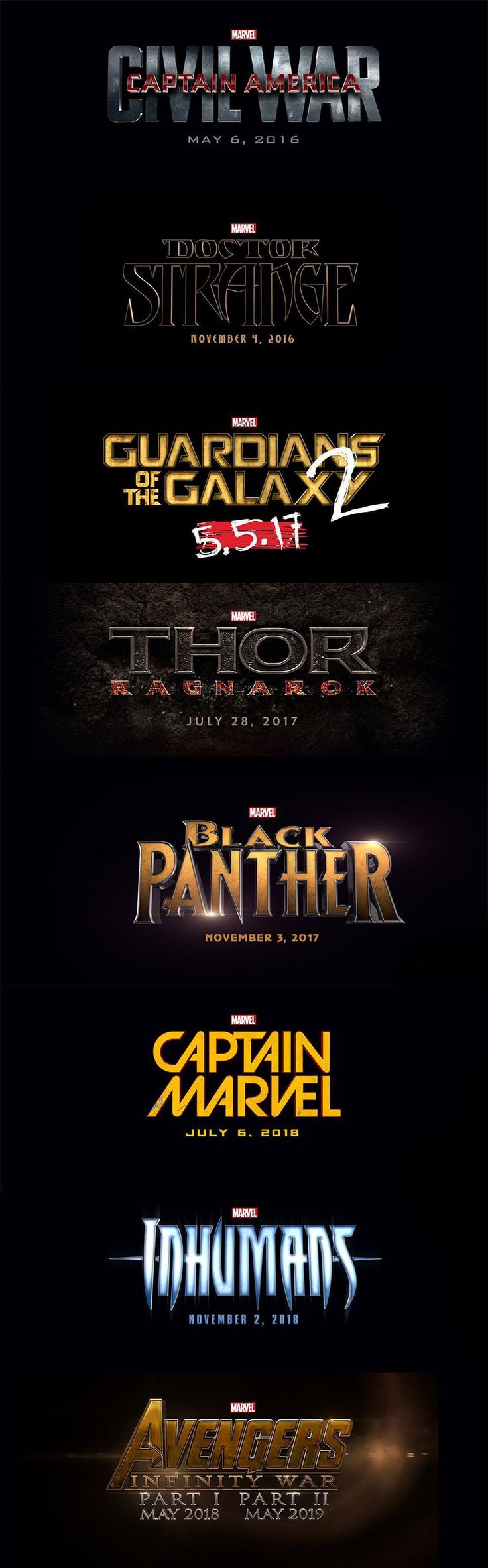 Black Panther, Captain Marvel and Inhumans join the Marvel Cinematic Universe