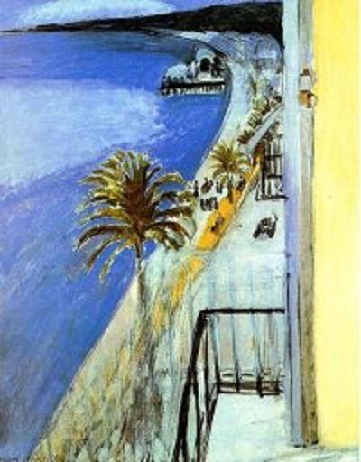 La Baie Des Anges, Nice, Henri Matisse, 1918