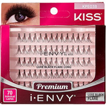 Kiss i-ENVY Premium Individual Eyelashes 70 Lashes - Luxe Black Flare Long #KPE03B $3.59   Visit www.BarberSalon.com One stop shopping for Professional Barber Supplies, Salon Supplies, Hair & Wigs, Professional Product. GUARANTEE LOW PRICES!!! #barbersupply #barbersupplies #salonsupply #salonsupplies #beautysupply #beautysupplies #barber #salon #hair #wig #deals #Kiss #iENVY #Premium #Individual #Eyelashes #70Lashes #Luxe #Black #Flare #Long #KPE03B