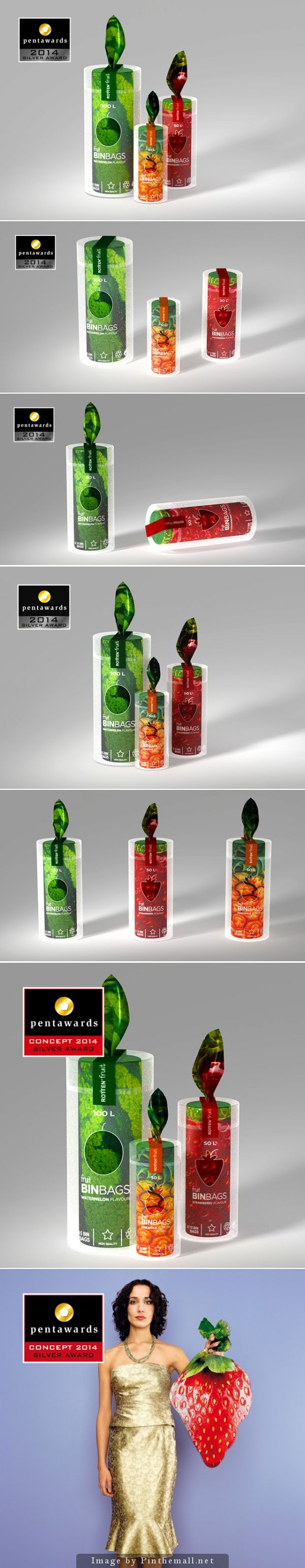 ROTTEN FRUIT (Concept) by Manon Fauvel #packaging #pentawards - http://www.packagingoftheworld.com/2014/11/rotten-fruit-concept.html