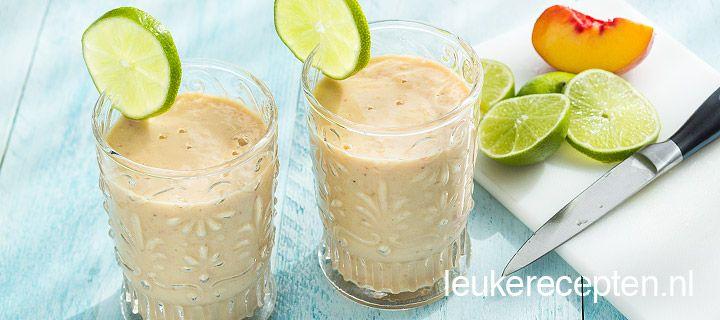 ~ Yoghurt, banaan, perziken, limoen