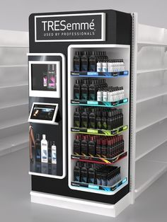 Hair Care Displays by Ricardo García at Coroflot.com