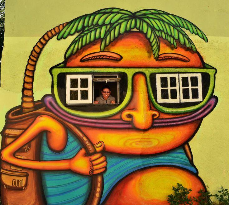 Best Character Street Art Ideas On Pinterest Street Art D - Street artist turns street furniture into characters