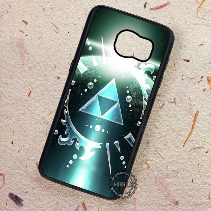 Glowing Triforce Legend of Zelda - Samsung Galaxy S7 S6 S5 Note 7 Cases & Covers