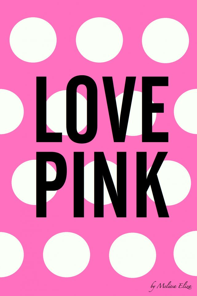 Love Pink Iphone Backgrounds Pinterest Wallpaper And Vs