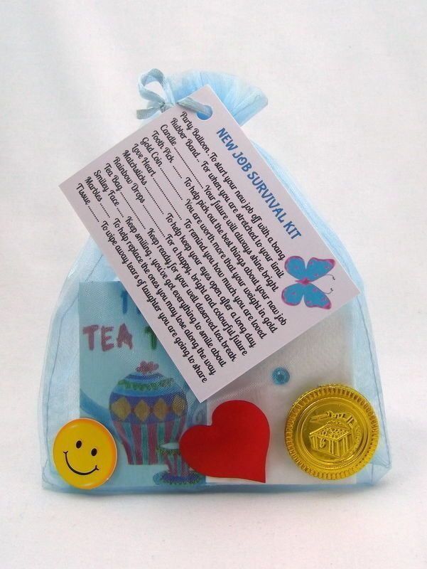 Job Survival Kit : Gift For Job, Career, Promotion Leaving Present