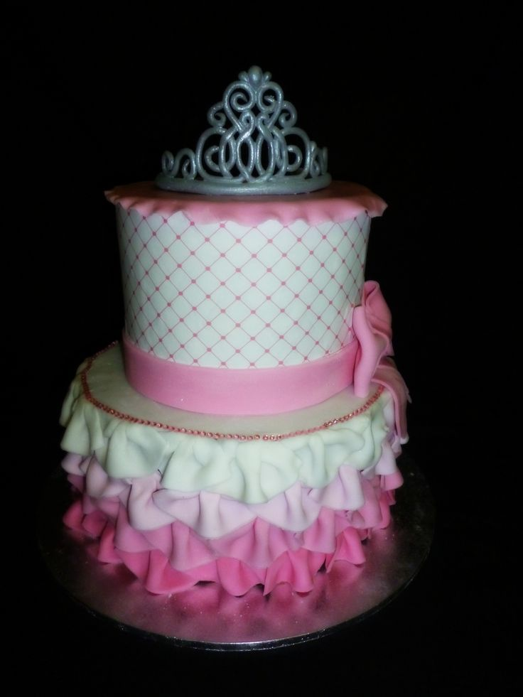 Princess, Baby Shower, Birthday, Ruffles, Bows