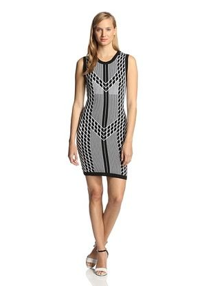 59% OFF Susana Monaco Women's Reese Dress (Black/Sugar)