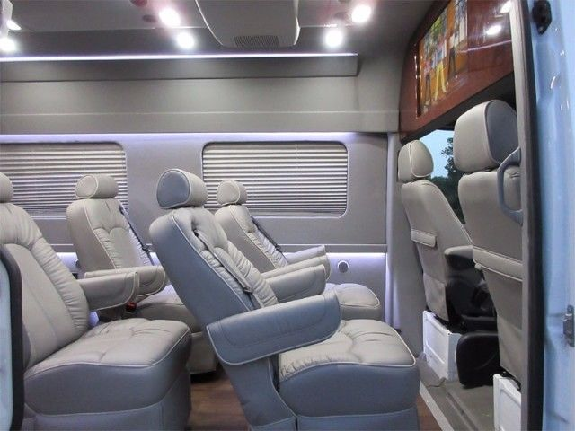 Cool Awesome 2016 Mercedes Benz Sprinter Passenger Executive Van