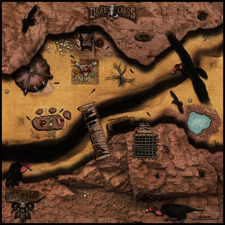 9 best desert battlemaps images on pinterest fantasy map maps and deadlands reloaded the vulturs lair by sadizzm gumiabroncs Choice Image
