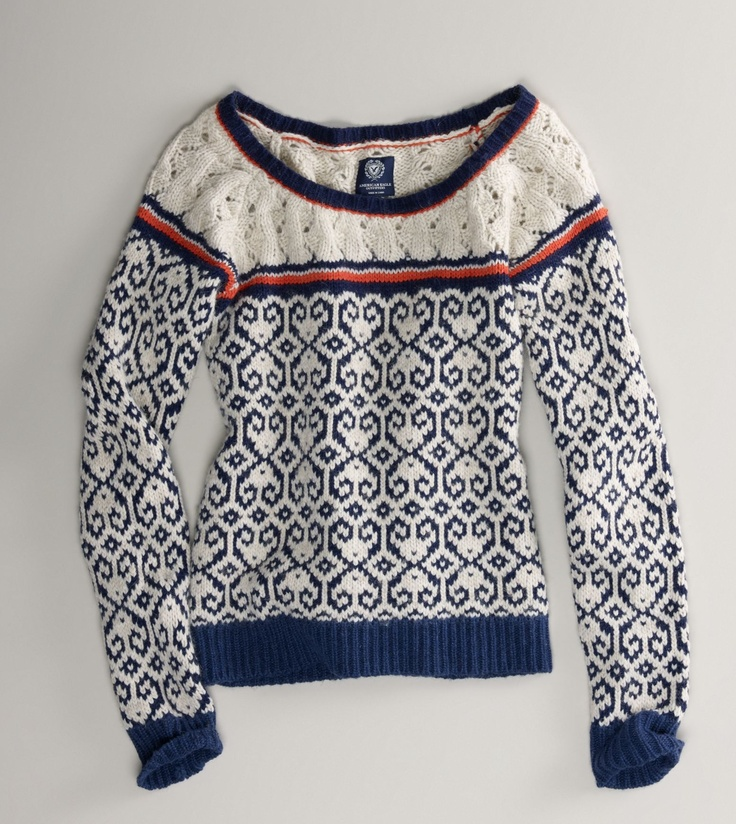 61 best Knitting Pullovers Fair Isle and Stranded images on ...