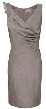 ShopStyle: Frill Tuck Dress