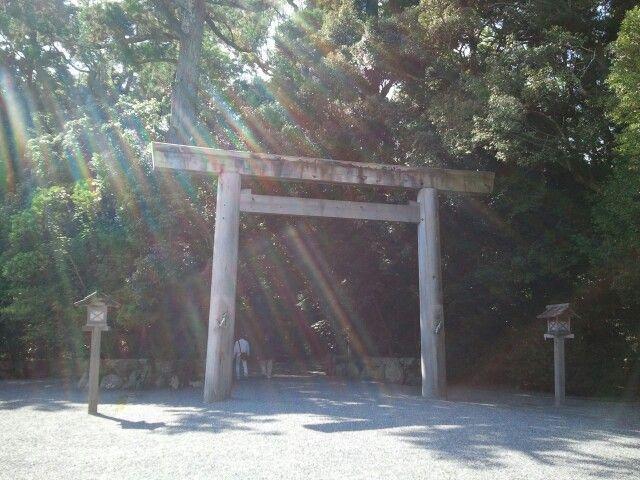 鳥居 外宮 Torii