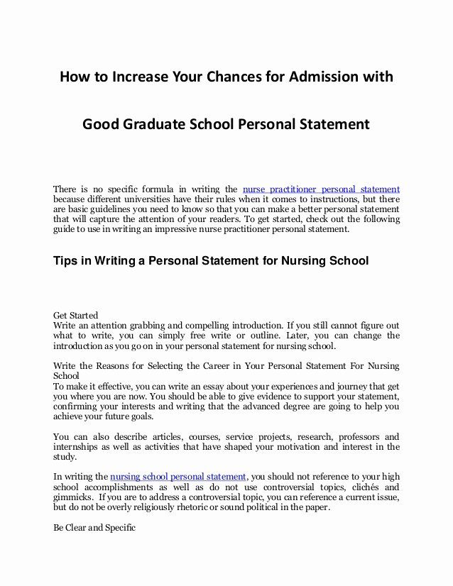 Sample Personal History Statement Graduate School Best Of Tip In Increasing Your Chance For Mission Essay Tips Core Value
