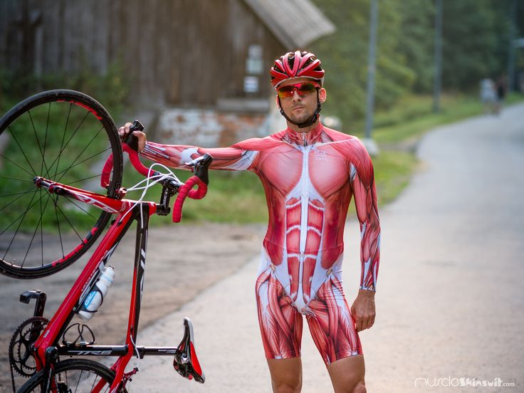 https://flic.kr/p/xTmBbC | cycling kit | muscle skinsuit long sleeve for cycling. More info about this skin suit on: muscleskinsuit.com/c/16-mss-longshort-pad.html