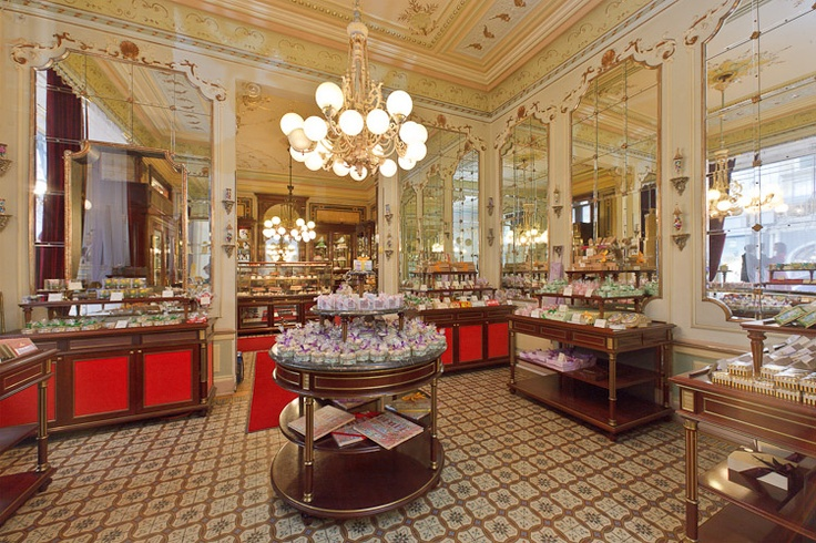 When enjoying a stroll through the city center of Vienna, Austria don't miss the Demel Pastry Shop.