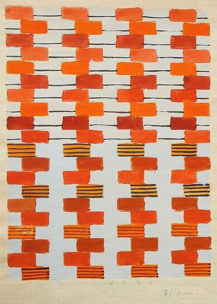 Design for fabric | Bauhaus Dessau 1925-1931 | Gunta Stölzl