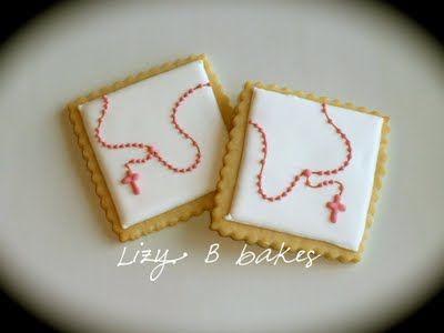 galletas de primera comunion